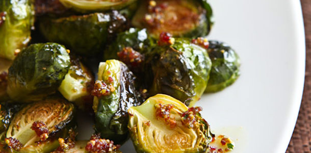 Carmelized Brussels Sprouts