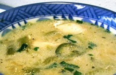 Green Chili with Chicken Soup